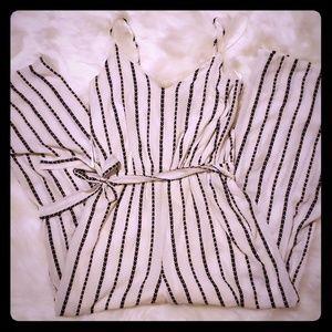 Cute striped jumpsuit